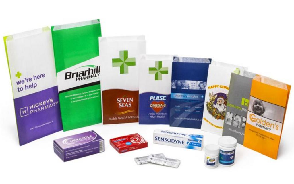 sacose hartie farmacie